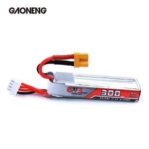 Image 3 - 2PCS Gaoneng GNB 300mAh 3S 11.4V 30C/60C HV Lipo battery XT30 Plug for FullSpeed TinyLeader whoop3S Drone RC FPV Drone parts