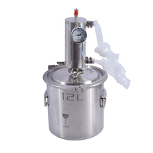 12л Самогонный дистиллятор из нержавеющей стали высокого объема Liqour производитель бренди водки виски машина брожения баррель домашний бак для пивоварения