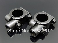 2 x 10MM CUSTOM MIRRORS CLAMP ON MOUNT ADAPTER FOR 7/8