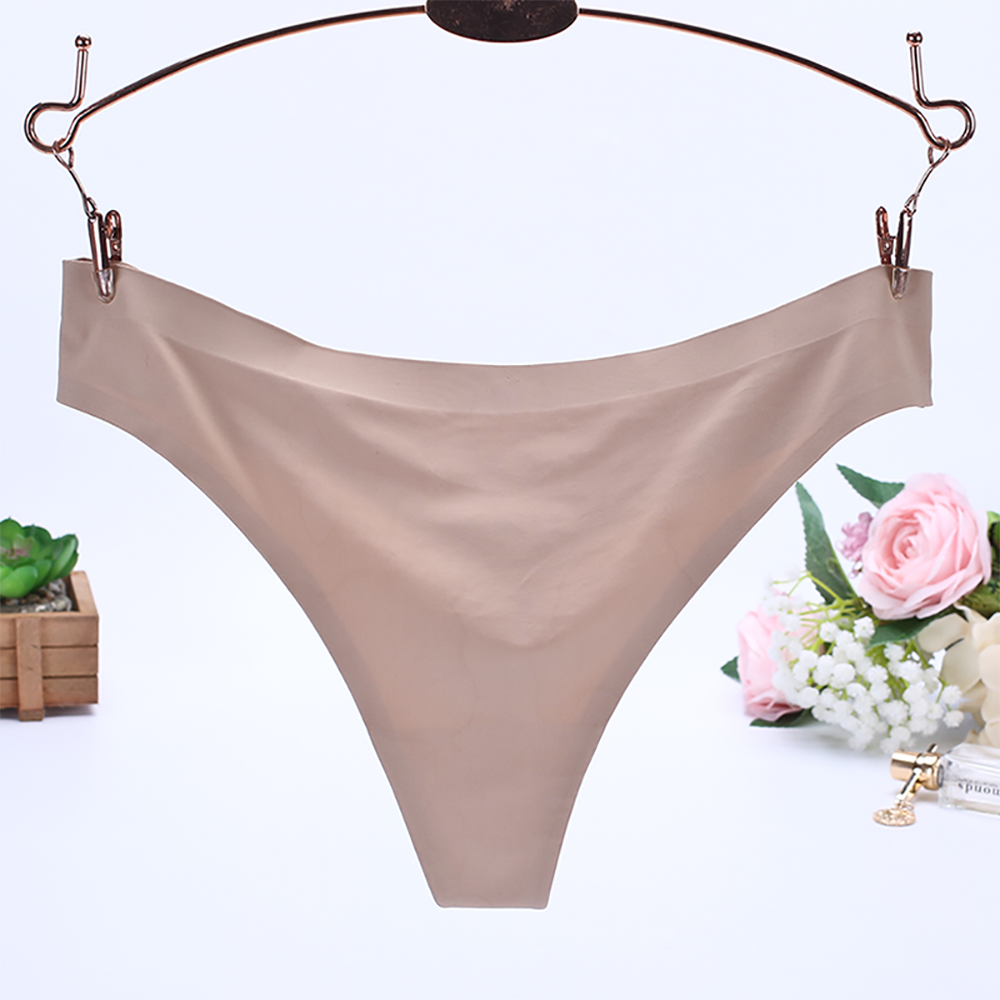 1e2ee3b9f KANCOOLD Women Underwear Sexy Lingerie Invisible Panties Underpants Ice  Silk Seamless Comfort Knickers Briefs Thongs D30