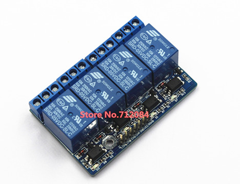 4 Four Channel relay module with opto-isolated, compatible with 3.3V and 5v signal, high voltage relay relay shield v2 0 5v 4 channel relay module