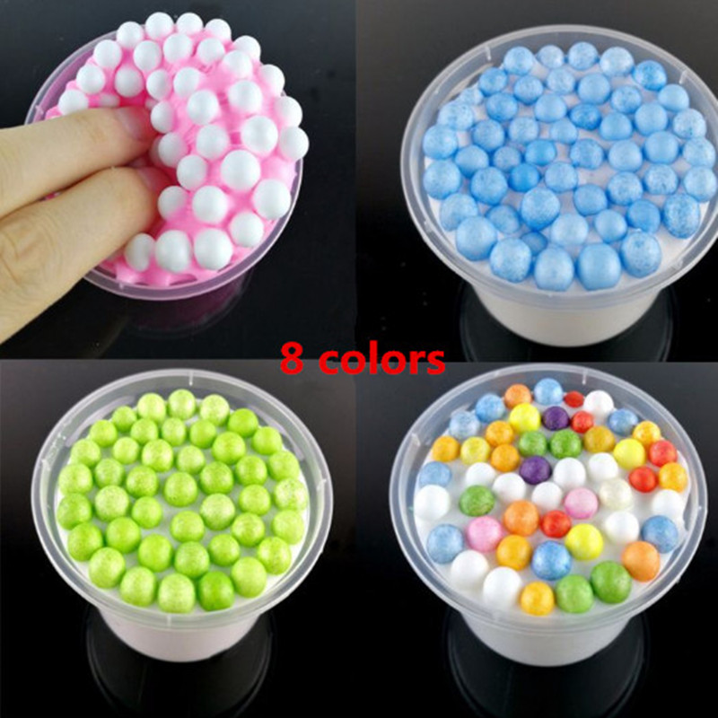 The New Listing Fluffy Floam Slime Scented Stress Relief No Borax Kids Planner Oyuncak Anxiety Antistress Squishy Squeeze Toy
