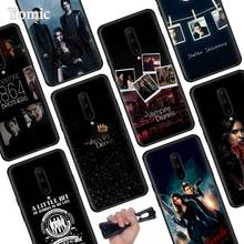 The Vampire Diaries Black Soft Case for Oneplus 7 Pro 7 6T 6 Silicone TPU Phone Cases Cover Coque Shell