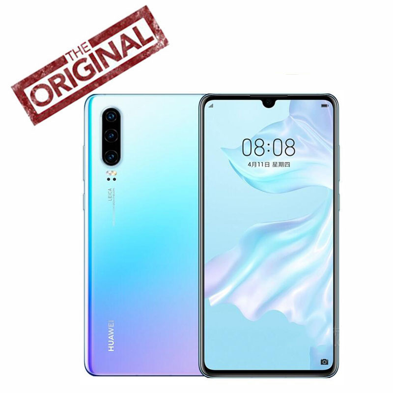 Official Huawei P30 Mobile Phone 6 1 inch OLED Screen 8GB RAM 64GB ROM Support NM