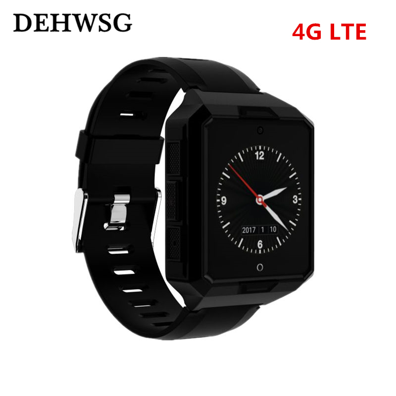 Smart watch Android 6.0 Blood pressure/Heart Rate waterproof 4G LTE Smartwatch LBS+GPS+PDR+WIFI Locate 1GB/8GB