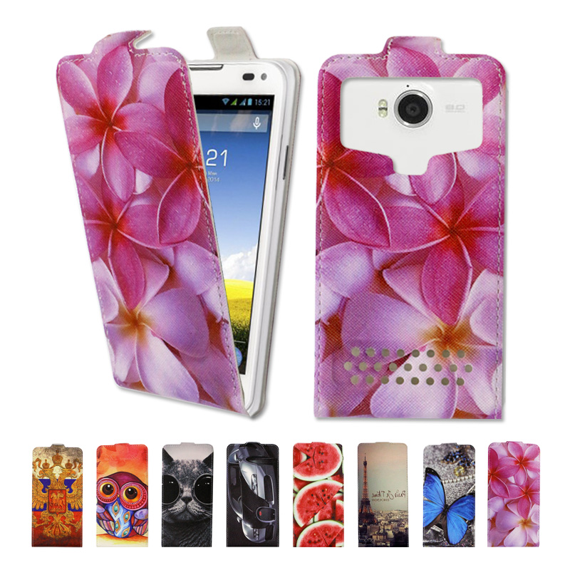 Luxury high-grade printed cartoon universal flip leather phone case for Micromax YU Yuphoria,free gift