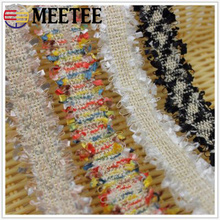 Meetee 20yards 3cm Cross-border Exclusive Aliexpress Hot Small Fragrance Lace Accessories National Wind Hair Band Diy BD164