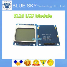 5pcs/lot 1.6″ -Compatible 5110 LCD Module w/ Blue Backlit – Blue Compatible for Arduino Free Shipping Dropshipping