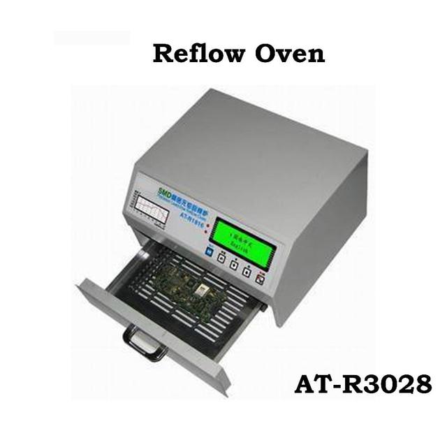 Riscaldamento Con Aria Calda.At R3028 Montaggio Superficiale Reflow Forno Con Radiazione