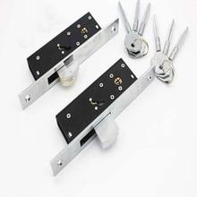 Cross Keys hidden door sliding lock for aluminium alloy 35~45 mm thickness KF253