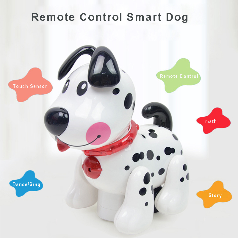 RC Robot Dog Electronic Pet Intelligent Dog Robot Toy Smart Wireless Talking Remote Control Educational Kids Gift For Birthday image