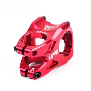 Image 2 - RAPTOR eje de bicicleta de montaña, accesorio para bicicleta de 31,8mm y 28,6mm, color negro/morado/rojo/verde/azul, Taiwán, OEM