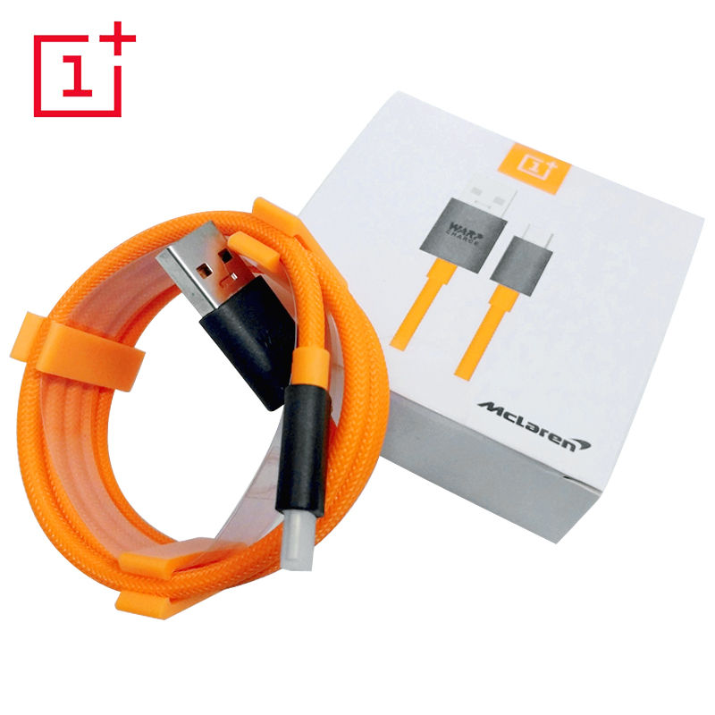 OnePlus 6T Cable Warp Dash Charge 30 Mclaren Dash Data Cable 6A Quick Fast Charger for OnePlus One Plus 6T 6 5 5T 3 3T With Box