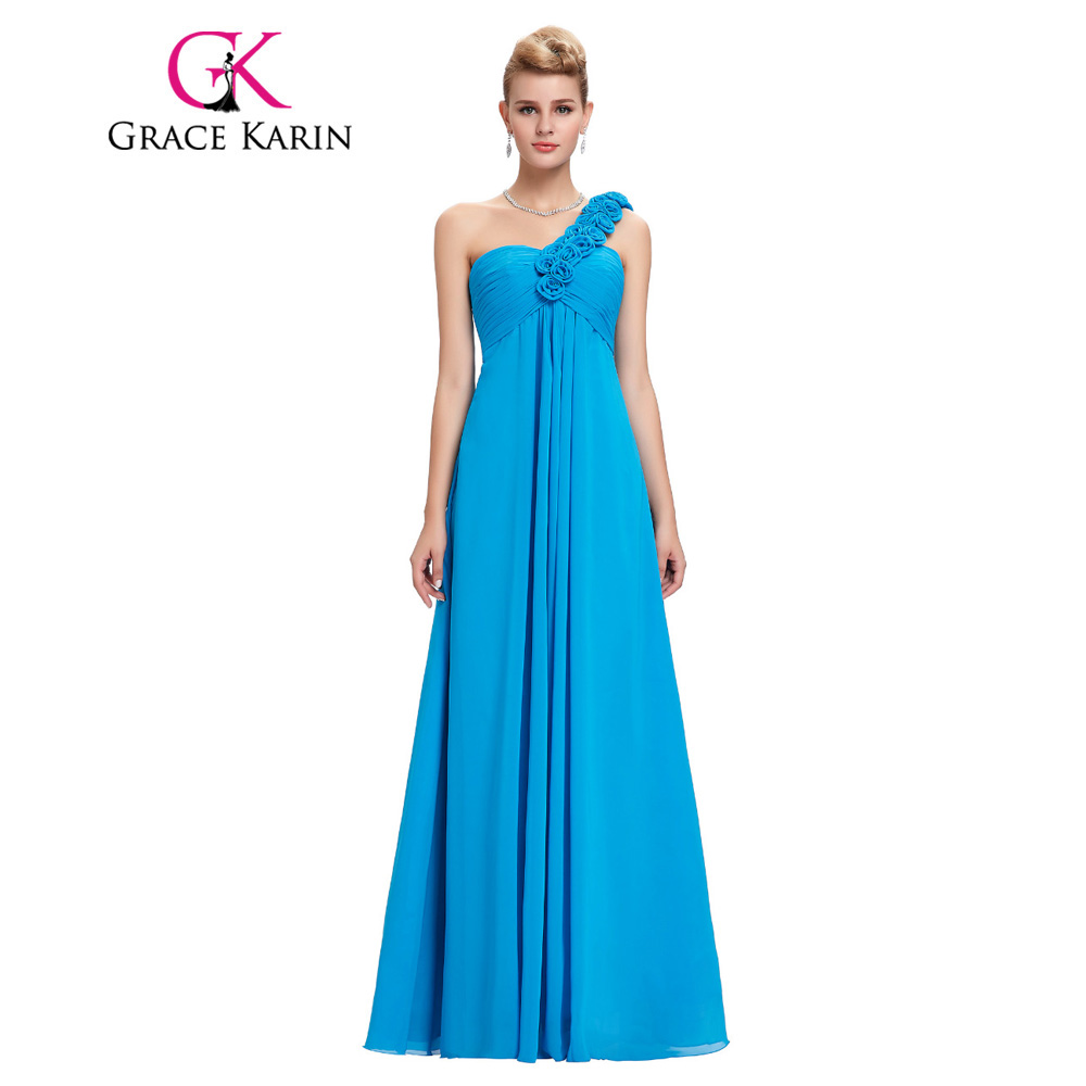 Compare prices on bridesmaid dresses beautiful online shopping grace karin special occasion dresses cheap one shoulder red yellow gray blue long bridesmaid dresses beautiful ombrellifo Image collections