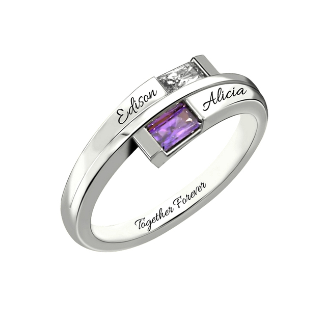 Pure 925 Sterling Silver Ring DIY Jewelry Lovers Fashion Custom Make