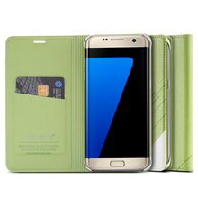 Floveme флип чехол Кожаный чехол для Samsung Galaxy S8 плюс S7 край S6 плюс S5 Примечание 7 чехол для телефона Роскошные Для Galaxy Note 5 Note 4