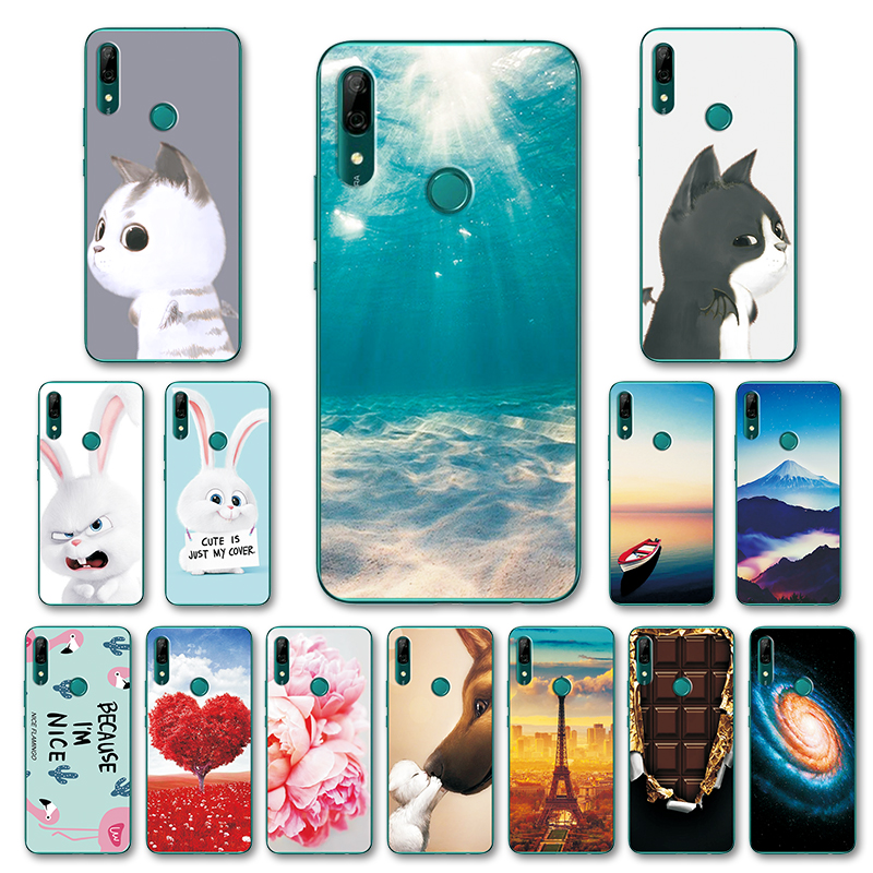 For Huawei P Smart Z STK-LX1 Fashion Various Case Back Cover Fundas For Huawei Y9 Prime 2019 6.59
