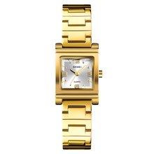 SKMEI Fashion Women Watch Stainless Steel Strap Quartz Watch 30m Waterproof Casual Sport Wrist Watch Models Relogio Watches цена в Москве и Питере