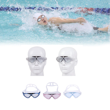 Silicone Swimming Goggles Anti-fog Diving Glasses UV Protection Water Sport Eye Mask Gear