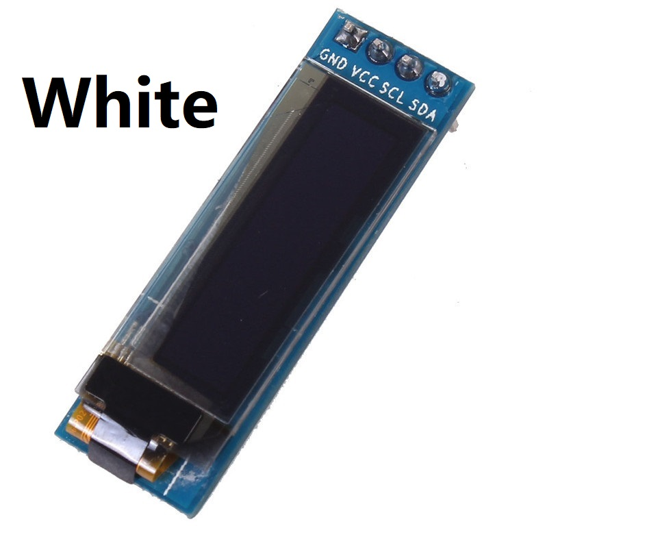 NEW 0.91 inch OLED module 0.91 White OLED 128X32 OLED Display Module 0.91 SPI interface SSD1306 For Arduino