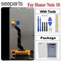 Honor Note 10 ЖК дисплей сенсорный экран дигитайзер сборка 6,95 мобильный телефон запасные части для huawei Honor Note 10 ЖК
