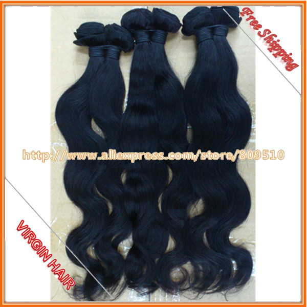 """Great hair Ring Retail/Wholesale Virgin Remy Brazilian Hair Weft Body Wave 14""""-28"""" about 3.2-3.5oz/pcs, DHL Free Shipping"""
