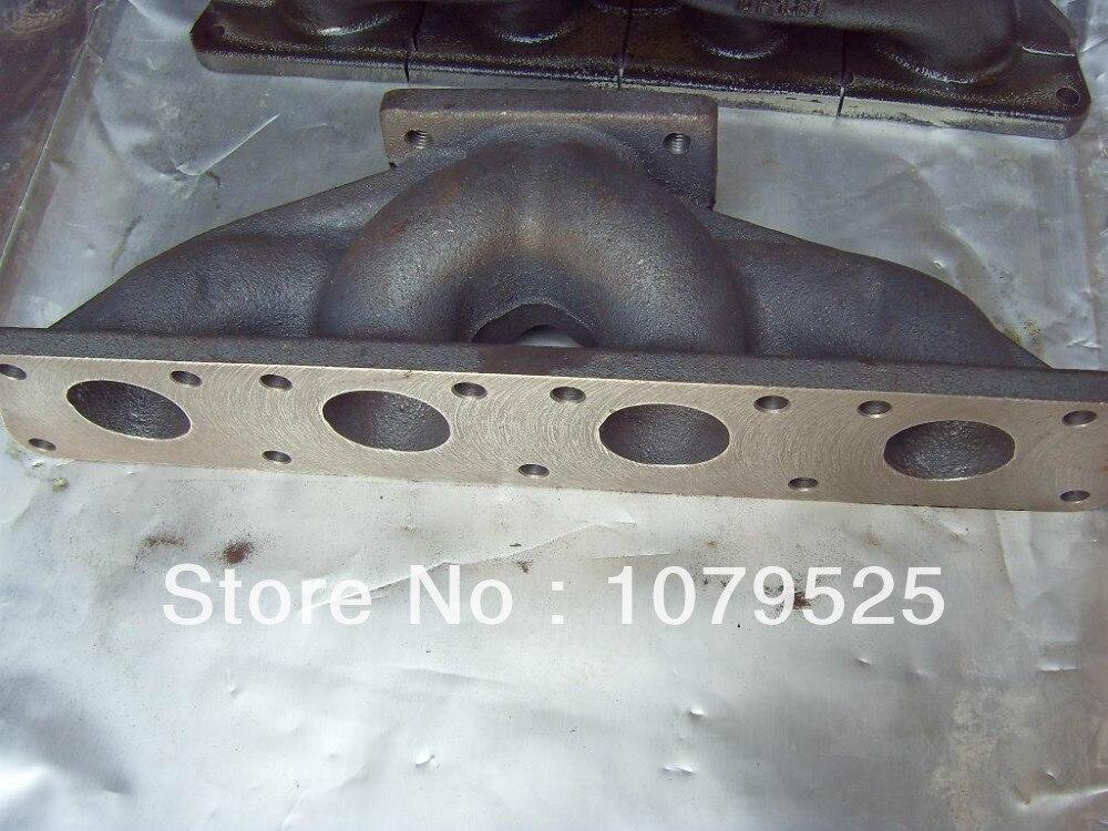 Чугунный турбо коллектор для VW VAG 1,8 1,8 T 20V Продольный T25 T28 турбо литой выпускной коллектор