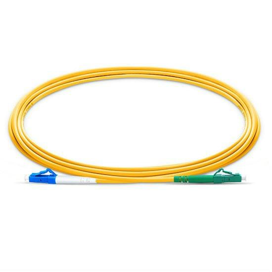 15m LCUPC-LCAPC Simplex 2.0mm Single Mode Fiber Optic Patch Cord, Fibre Optique Jumper Cable Fibre Optica LC Cable