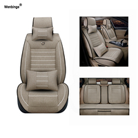 Breathable Car Seat Covers For Subaru Forester Outback Tribeca Heritage Xv Impreza Legacy Auto Accessories Styling