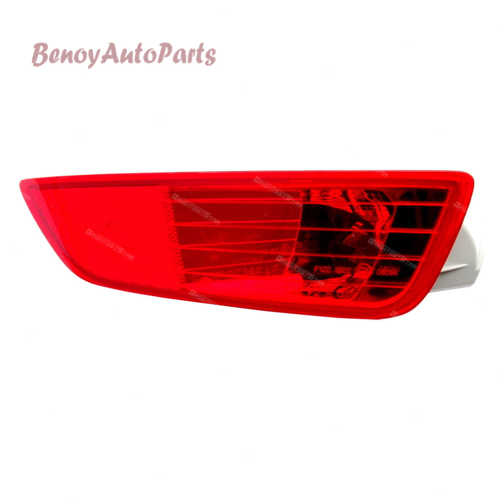 30763322 30763323 Rear Bumper Tail Light Lamp Left+Right Cover Reflector For Volvo XC60 2008 2009 2010 2011 2012 2013