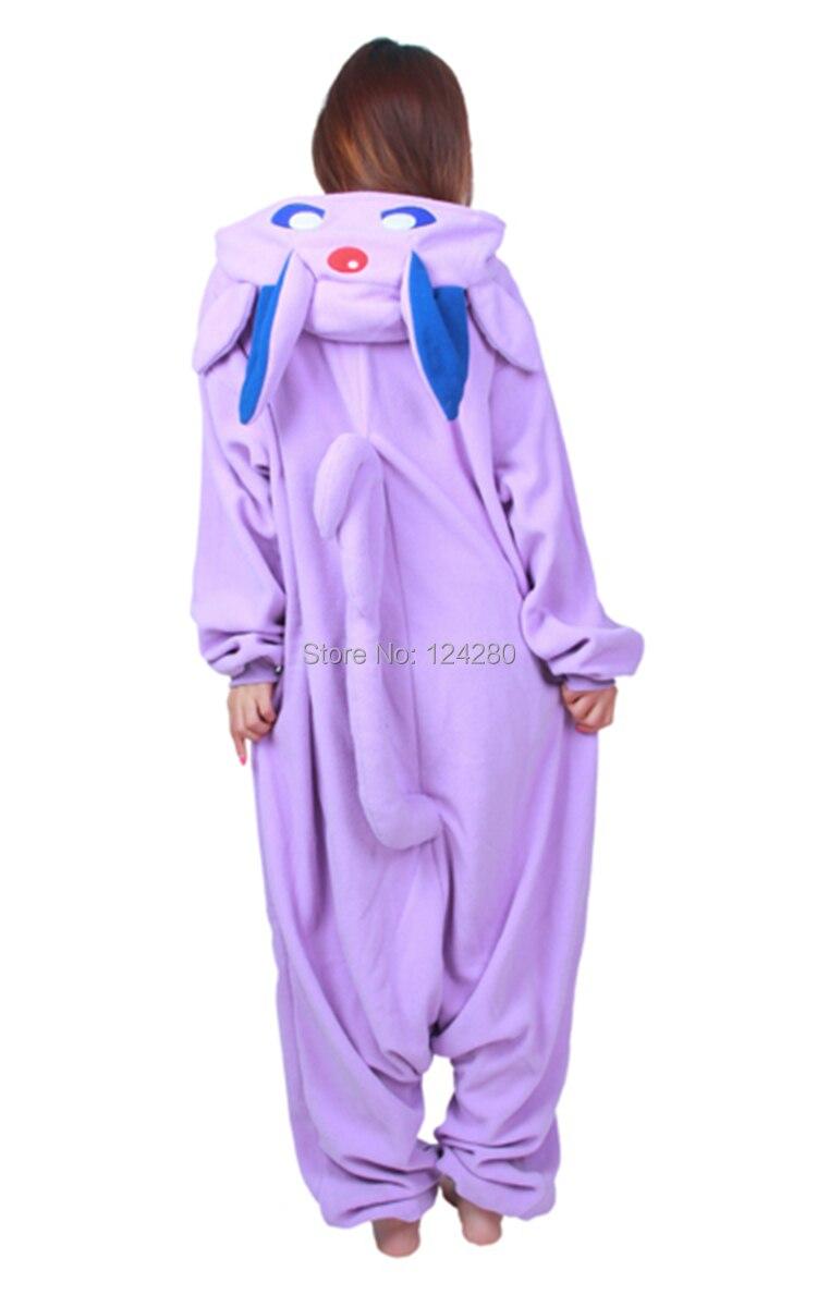 Partido de la manera Pokemon Espeon Umbreon Cosplay Pijama Pijama onesies  mono mameluco en Ropa de Novedad y de uso especial 8ddb370ca84a