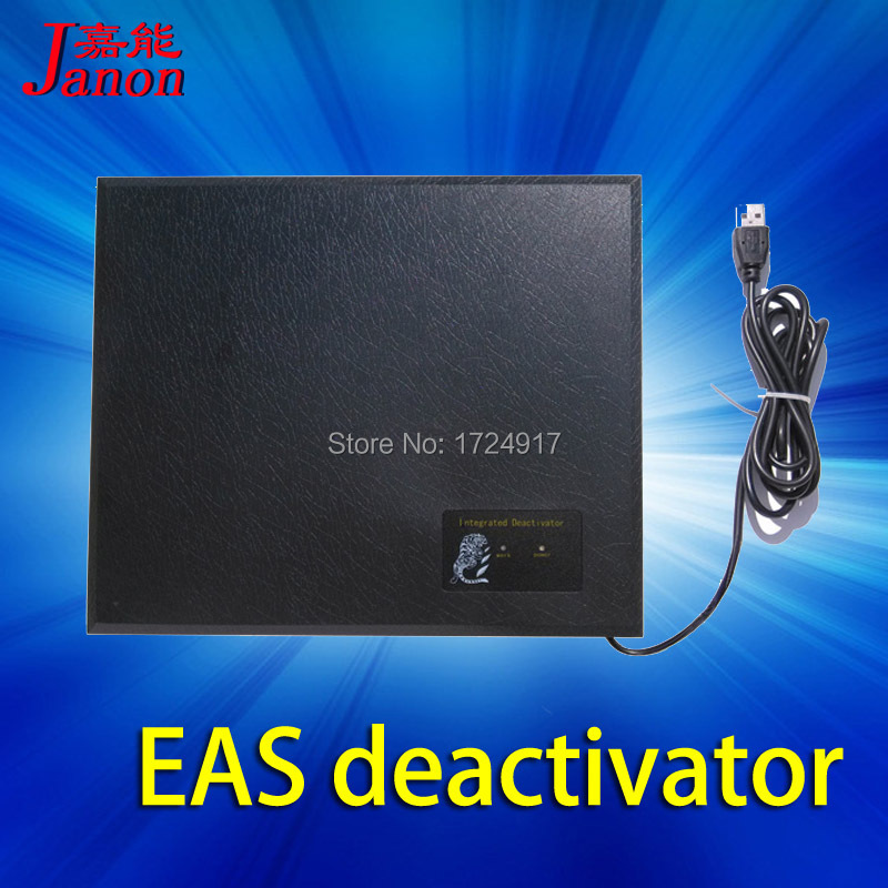 2016 New EAS flash and sound integrated security alarm system label  deactivator for RF soft label system frequency tester sound and light alarm system for drug store and pharmarcy shcool library anti theft system acrylic eas security alarm system