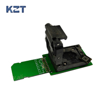EMMC153 BGA169 Socket Adapter SD Interface Smart Digital Device Flash Memory Data Recovery Burn In Test