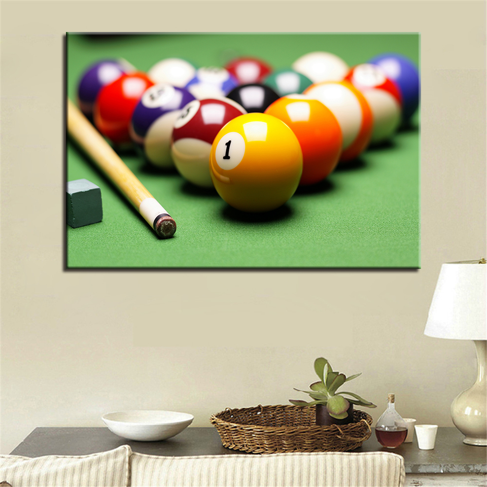 Decor Printed Pictures HD Home Wall Art Painting 1 Piece/Pcs Table Tennis Modern Canvas Living Room Framework Modular Poster
