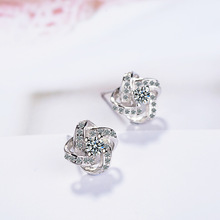 цены Eternal Star Stud Earrings Korean version of the fashion temperament high-end ear jewelry
