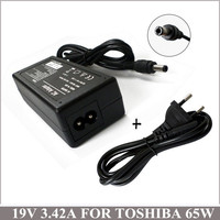19V 3 42A 65W Laptop AC Adapter Charger With Free Shipping For Computer Toshiba Satellite A135