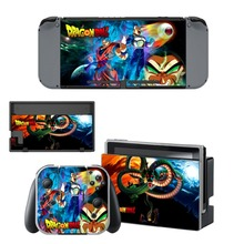 Nintendo Switch Vinyl Skins Sticker For Nintendo Switch Console and Controller Skin Set – For Anime Dragon Ball Super Z Goku