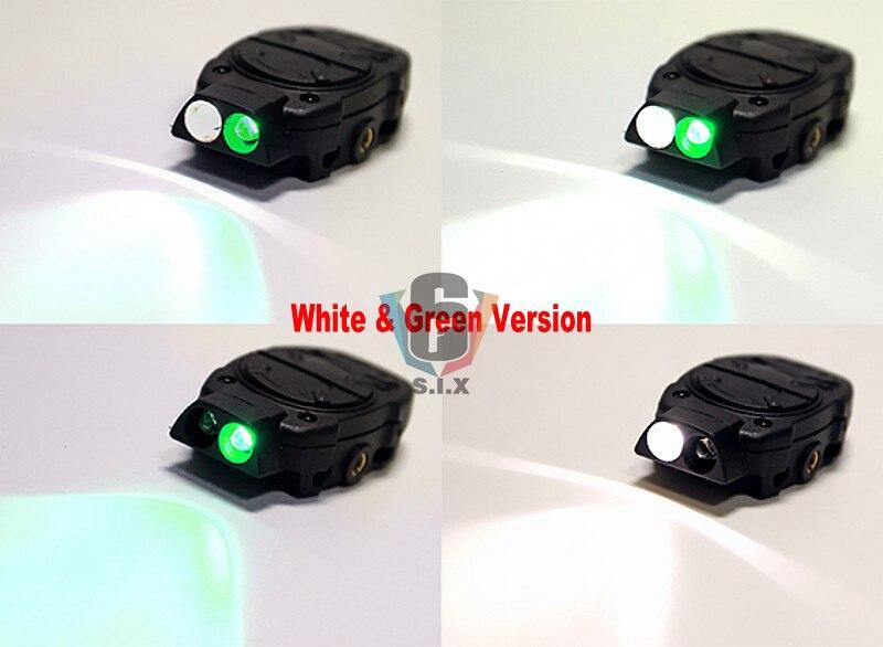 Capacete tático softair luz interruptor ferroviário greem