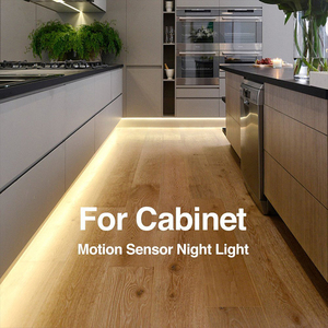 Image 5 - Firecore DC12V Led Strip Motion Sensor Light Auto On/Off Flexibele Led Light 1M 2M 4M voor Bed Licht Met Voeding