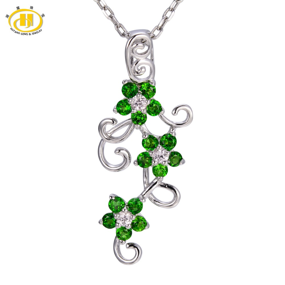 Buy chrome diopside necklace and get free shipping on aliexpress aloadofball Image collections