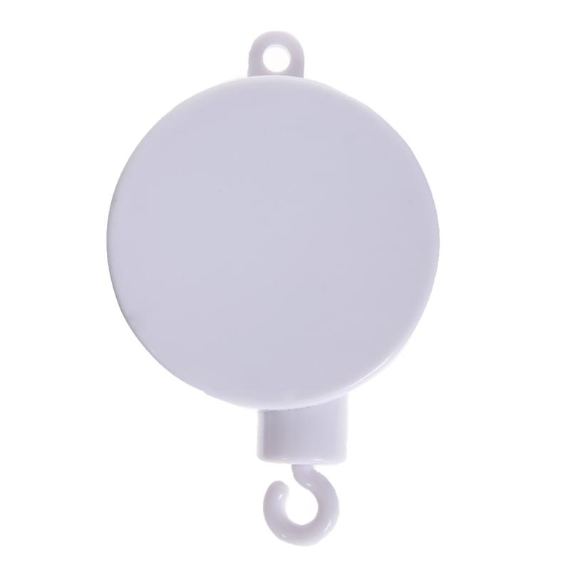 Music Songs Baby Rotary Mobile toys White Rattles Bracket Set Baby Crib Mobile Bed Bell Toy Holder Arm Bracket Wind-up Music Box shiloh 60 songs musical mobile baby crib rotating music box baby toys new multifunctional baby rattle toy baby mobile bed bell