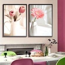 57*43 см Рукоделие, сделай сам DMC Вышивка крестом, наборы для вышивания, элегантная ваза цветочные узоры вышивка крестиком, настенная домашняя Декорация