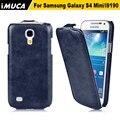 Для samsung s4 mini case откидная крышка для samsung galaxy s4 мини i9190 i9192 i9195 imuca случай мобильного телефона мешок завод оригинальный