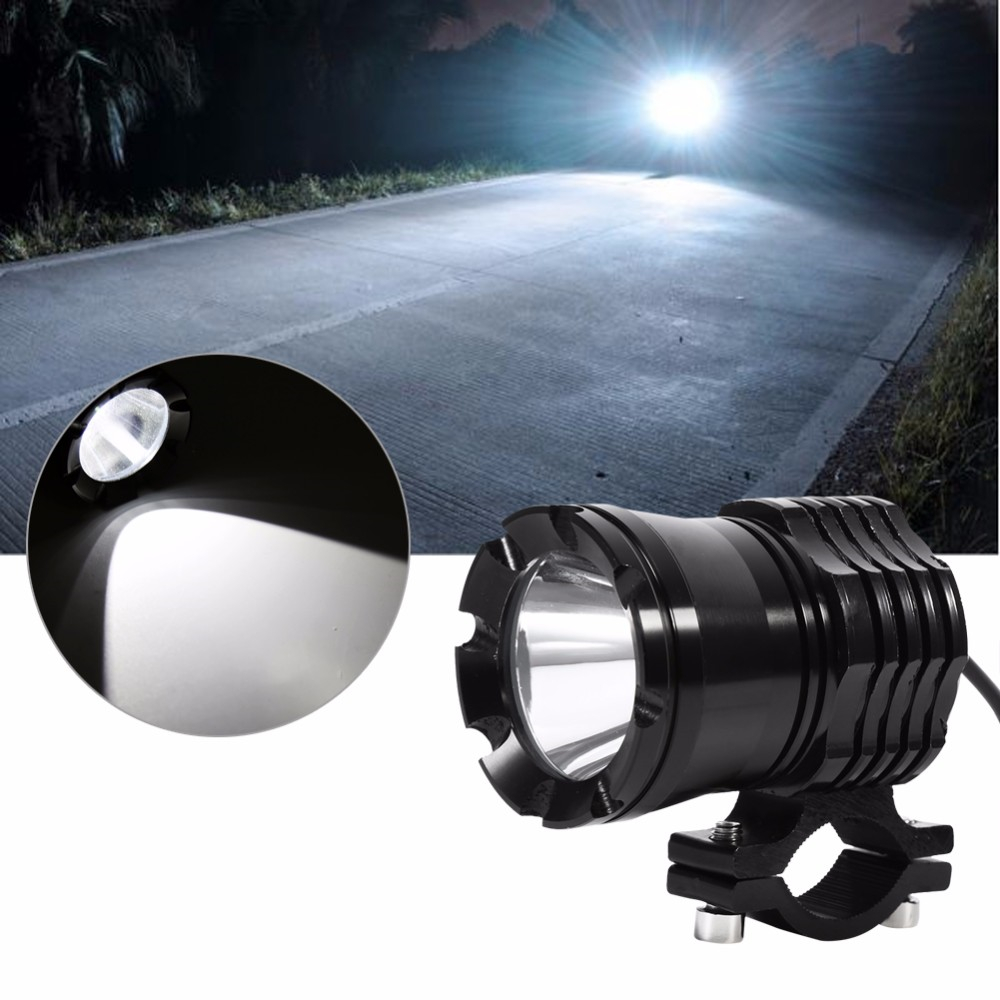 US $27 13 17% OFF|2pcs/lot 30W 3 Stall Light LED Waterproof Headlight Spot  Light for Motorcycle Car Boat Off Road Headlight 12 80V Universal-in