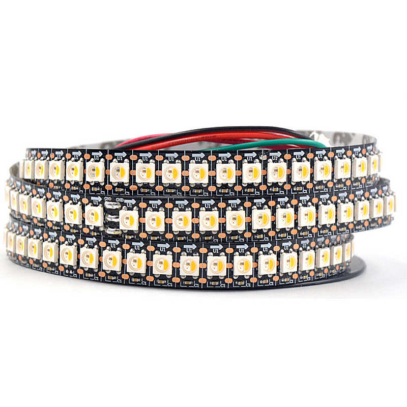 Adreslenebilir SK6812 MINI 5050 RGB RGBW led piksel şerit 4mm/5mm RGBNW RGBWW WWA 60 LEDs/ m 5 V tam renkli olarak WS2812B 1 m 2 m 5 M