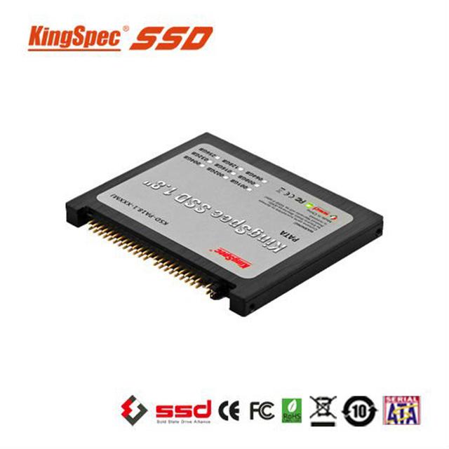 Classic 1.8 pulgadas 44pin ide pata ssd de kingspec 128 gb de estado sólido unidad flash MLC para el ordenador portátil notebook Tablet disco duro IDE 44pin