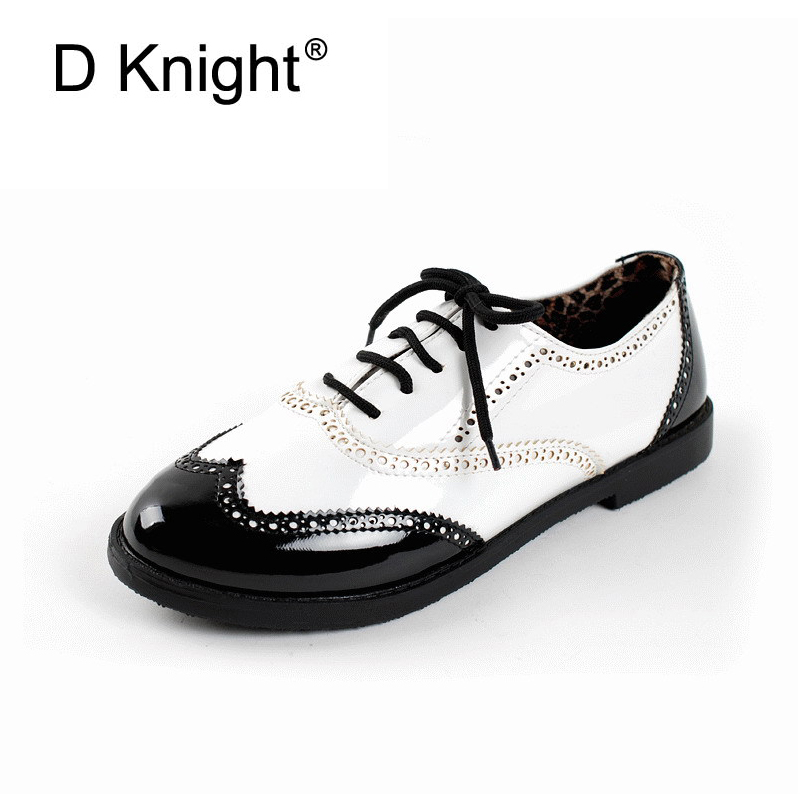 1c4e9aa7f96 Plus Size Women Brogue Pointed Toe Wedge Lace Up Platform Creepers Shoes  New 455 Clothing
