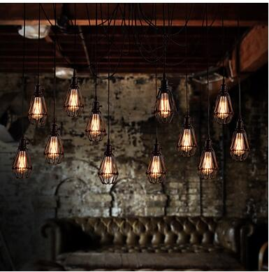 Hot sale new christmas holiday party multiple arm edison bulb hot sale new christmas holiday party multiple arm edison bulb pendant chandelier vintage loft bar restaurant bedroom e27 lamp in pendant lights from lights mozeypictures Gallery