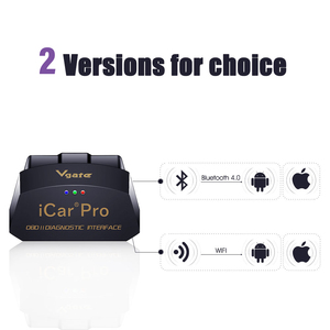 Image 2 - Vgate iCar Pro Wifi OBD2 Scanner Bluetooth Auto Diagnostic Tool ELM327 V2.1 iCar Pro Scanner For Android/IOS Automotive Sca