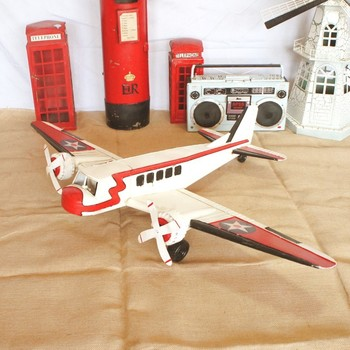 Manual cruise aircraft model metal crafts craft ornaments SMT190 room decoration accessories  home decoration  christmas
